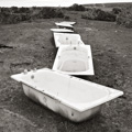 Plastic Baths, Redpoint Farm, Wester Ross, Scotland.